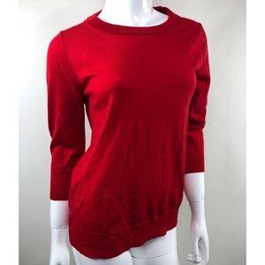 J. Crew Red Tippi Sweater
